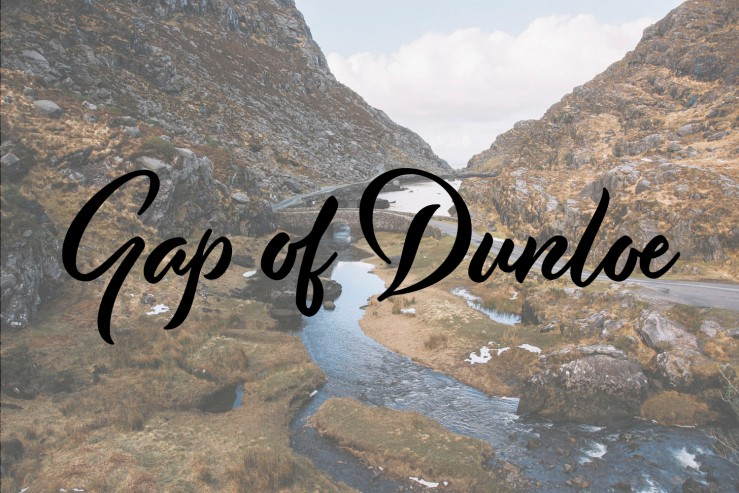 Gap Dunloe_kerry_wildroavignette