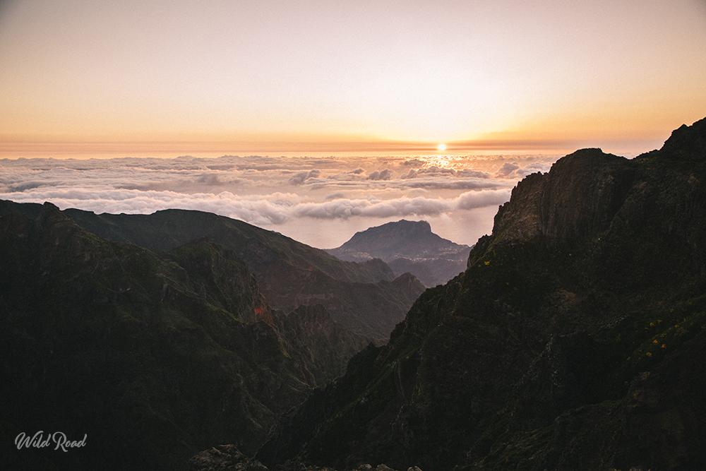 Pico de arieiro à Madère