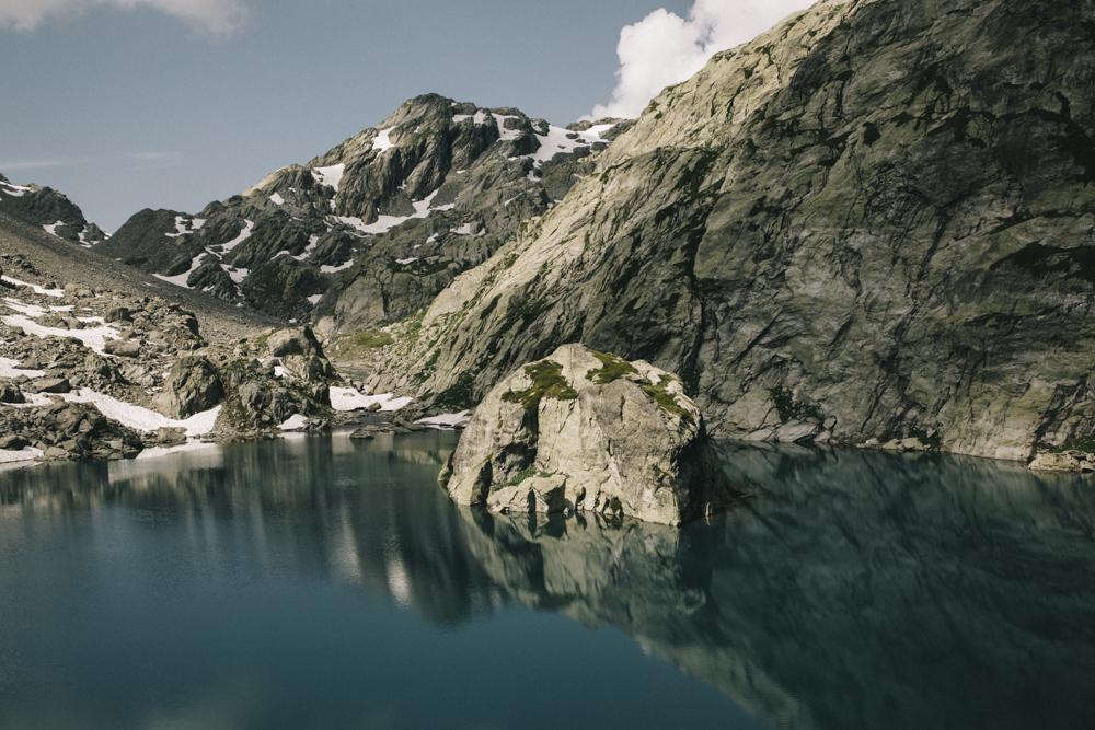 Tignes Les Alpes Lac de Bellacomba