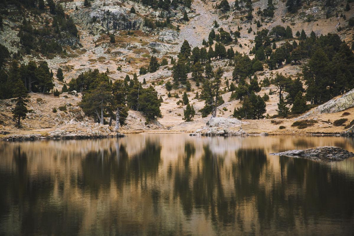 Reflet sur le Lac Achard