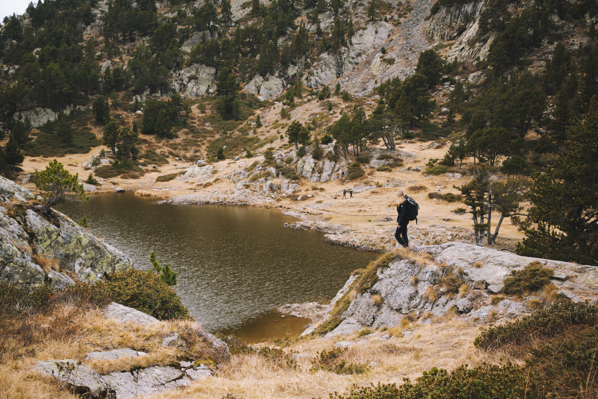 Le lac Achard sur le domaine de Chamrousse