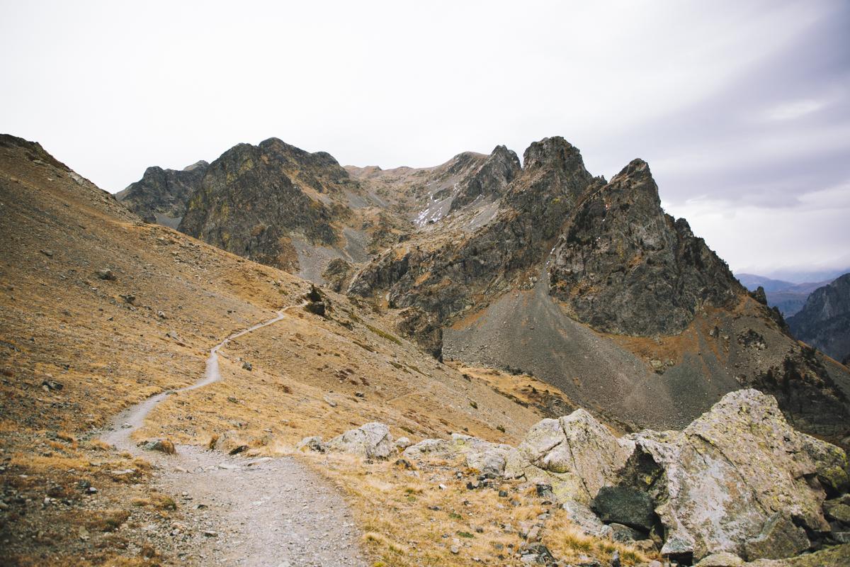 Le sentier vers les Lacs robert