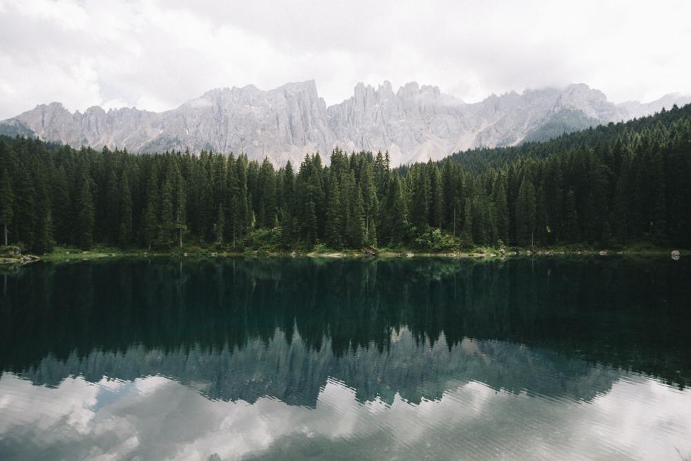 Lac de Karersse Dolomites