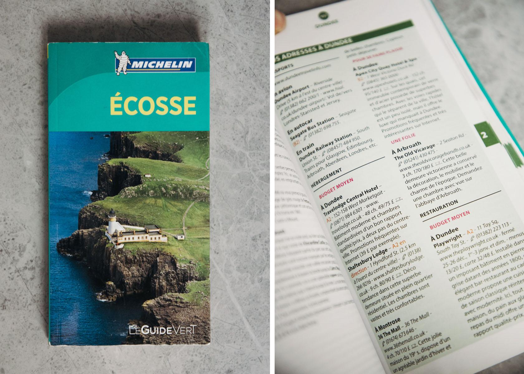 Guide Michelin Ecosse