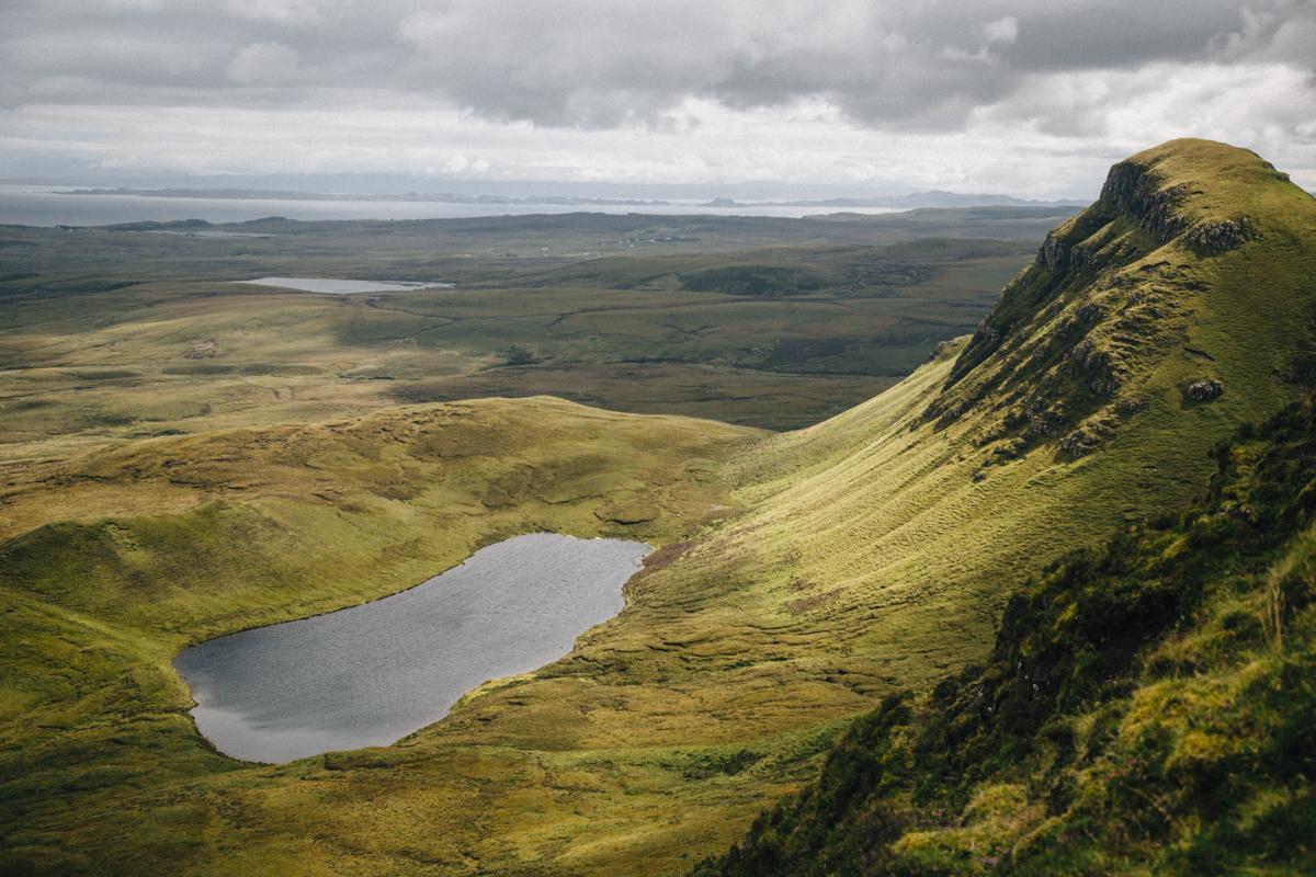 Quiraing sur l'île de Skye