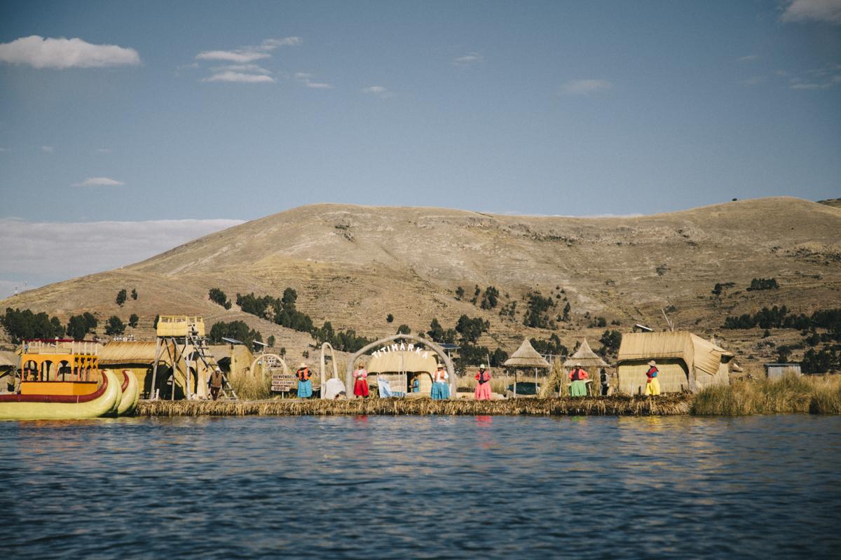 Lac titicaca et les îles Uros