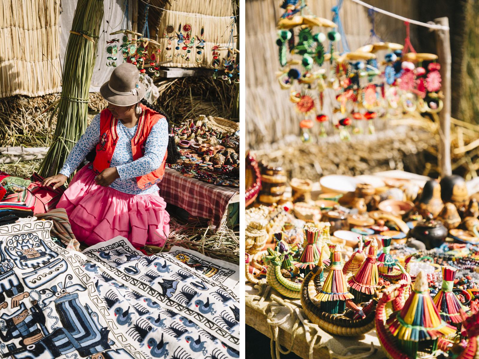 lac titicaca artisanat Uros