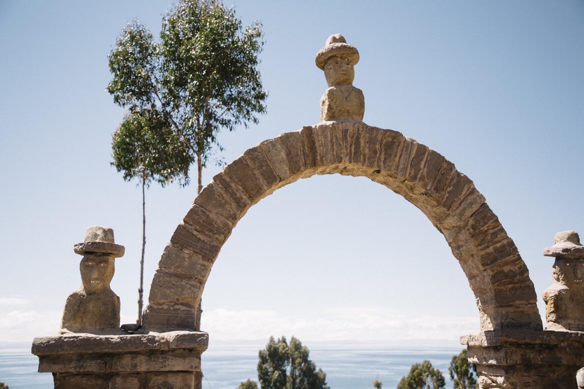 Lac titicaca et l'île de Taquile